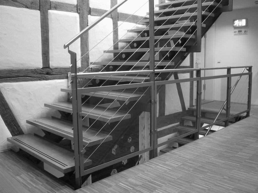 Musikschule Süßen Treppenaufgang