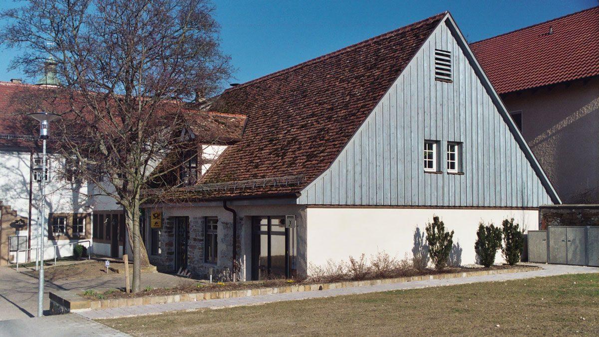 Schloss Dürnau von außen im Detail