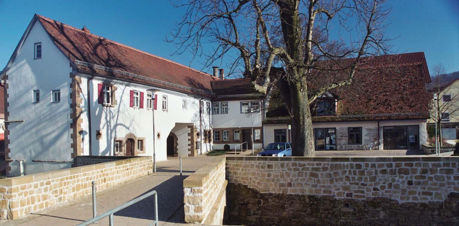 Schloss Dürnau von außen