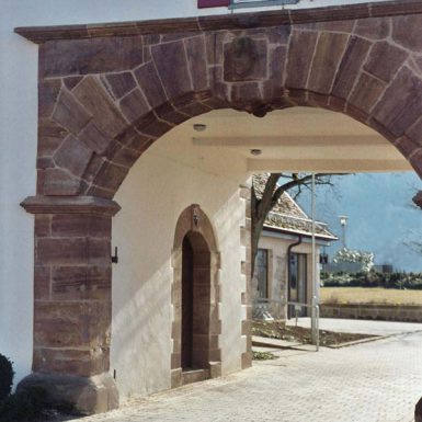 Durchgang im Schloss Dürnau
