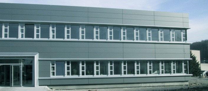 CeramTec Ebersbach Fassade