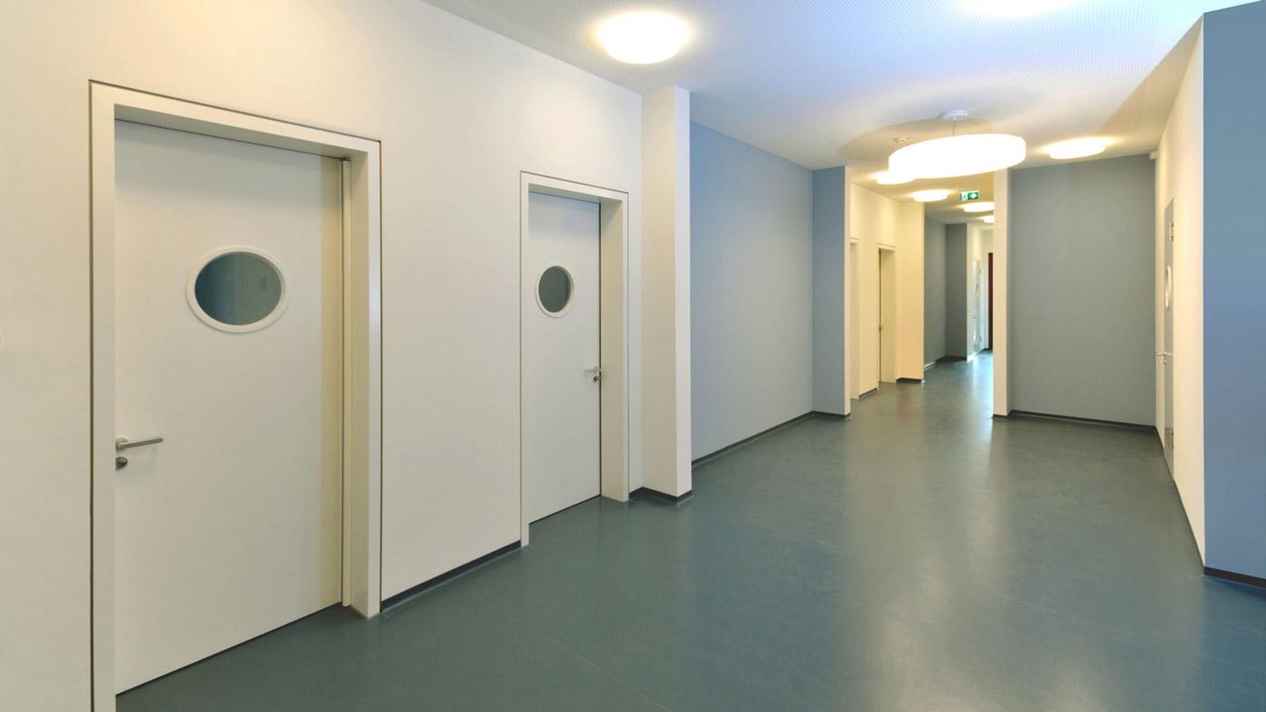 Flur im Kinderhaus Ebersbach