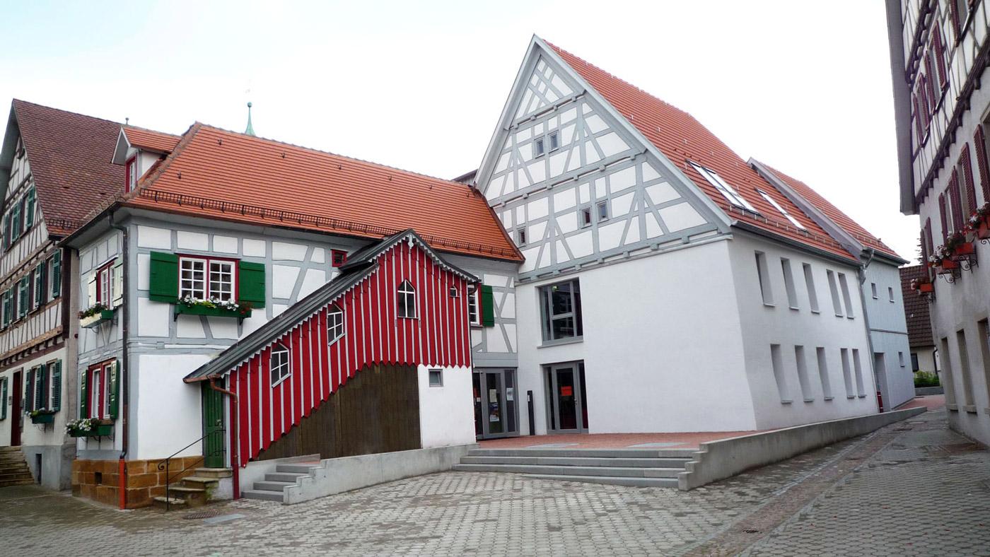 Kulturhaus Süßen Außenansicht
