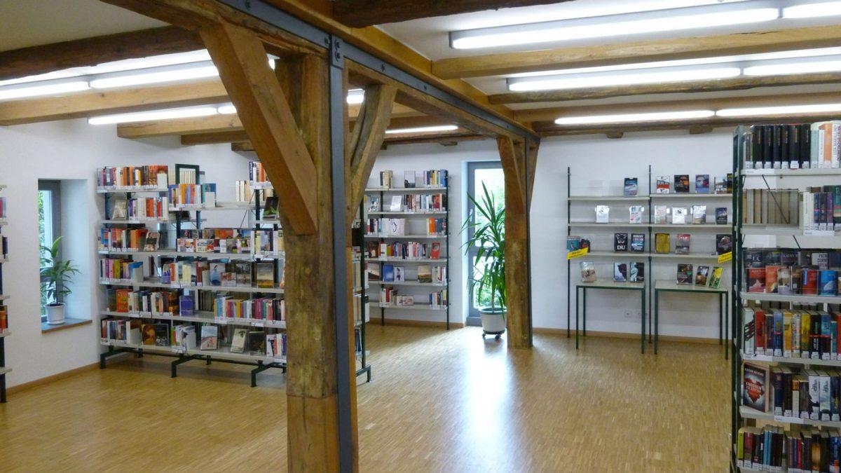Büchersaal im Kulturhaus Süßen
