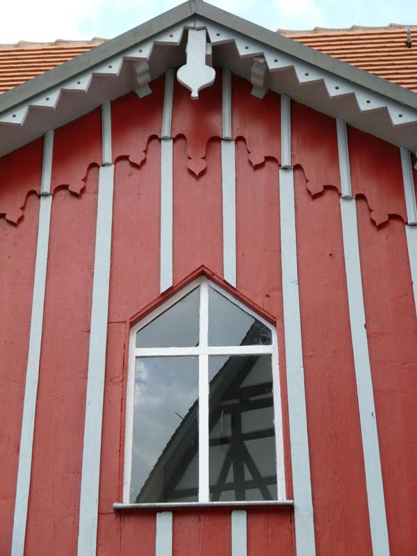 Kulturhaus Süßen Fassade im Detail